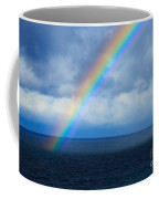 Rainbow Over The Atlantic Ocean Coffee Mug