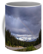 Rainbow Over The Mountains Coffee Mug