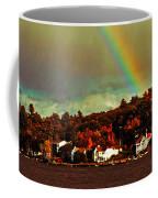 Rainbow Over Winnipesaukee Two Coffee Mug