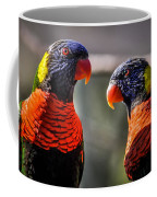 Rainbow Parrot Coffee Mug