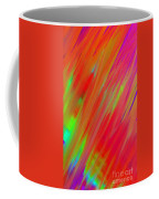 Rainbow Passion Abstract Upper Right Coffee Mug