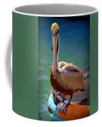 Rainbow Pelican Coffee Mug