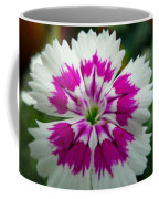 Rainbow Pink Flower Coffee Mug