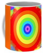 Rainbow Reality Coffee Mug by Mariola Bitner