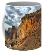 Rainbow Rocks And A River Coffee Mug