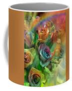 Rainbow Roses Coffee Mug