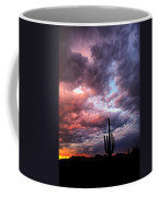 Rainbow Skies At Sunset  Coffee Mug