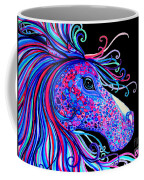 Rainbow Spotted Horse2 Coffee Mug