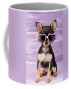 Rainbow Sunglasses Coffee Mug by Greg Cuddiford