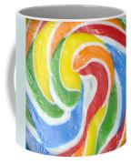 Rainbow Swirl Coffee Mug by Luke Moore