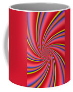 Rainbow Swirls Coffee Mug