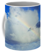 Rainbow Through The Clouds, Oahu Coffee Mug