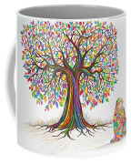 Rainbow Tree Dreams Coffee Mug