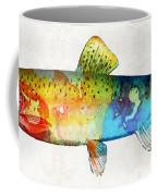 Rainbow Trout Art By Sharon Cummings Coffee Mug
