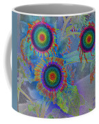 Rainbows In Flowers  Coffee Mug