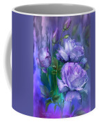 Raindrops On Lavender Roses Coffee Mug