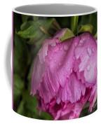 Raindrops On Peony Coffee Mug