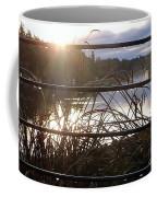Raindrops To River Sunrise Coffee Mug