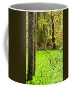 Rainforest Wetland Wildernis Of West Coast Bc Coffee Mug