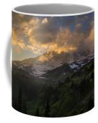 Rainier Evening Skies Drama Coffee Mug