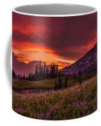 Rainier Fire Mountain Panorama Coffee Mug