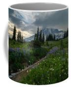 Rainier Meadows Wandering Coffee Mug