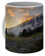 Rainier Purple Lupine Carpet Coffee Mug