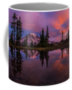 Rainier Soaring Sunrise Reflection Coffee Mug