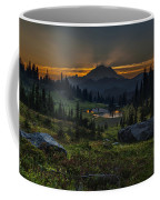 Rainier Sunset Basin Coffee Mug