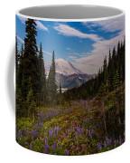 Rainier Tipsoo Wildflowers Coffee Mug