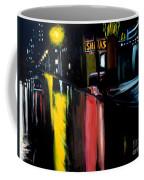 Raining Night In The City Coffee Mug