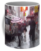 Rainy Corner - New York City Coffee Mug