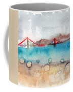 Rainy Day In San Francisco  Coffee Mug by Linda Woods