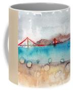 Rainy Day In San Francisco  Coffee Mug by Linda Woods