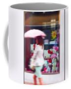 Rainy Day Kitty Coffee Mug