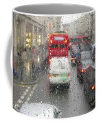 Rainy Day London Traffic Coffee Mug
