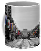Rainy Day On The Parkway Coffee Mug by Bill Cannon