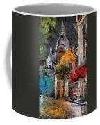 Rainy Evening In Montmartre Coffee Mug