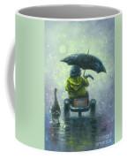 Rainy Ride Coffee Mug