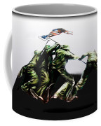 Raising Of Old Glory Coffee Mug