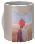 Rajasthan Farmer, 2012 Acrylic On Canvas Coffee Mug