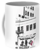 Raleigh Cigarettes Billboard Ad Portland Oregon 1979 Coffee Mug