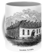 Raleigh Tavern, 1770s Coffee Mug