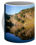 Rampart Ridge In Rachael Lake Coffee Mug