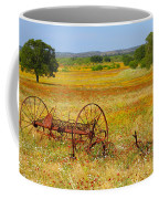 Ranch And Wildflowers And Old Implement 2am-110547 Coffee Mug