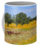 Ranch And Wildflowers And Old Implement 2am-110556 Coffee Mug