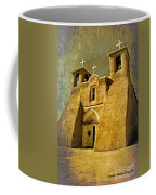 Ranchos Church In Old Gold Coffee Mug