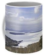 Rangeley Maine Winter Landscape Coffee Mug