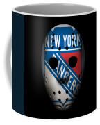 Rangers Goalie Mask Coffee Mug
