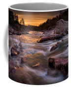 Rapids At Dawn Coffee Mug